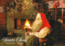Santa Claus (Père-Noël) - Arctic Circle - Greeting From Lapland - Napapiiri, Suomi, Finland, Finlande - Kerstman