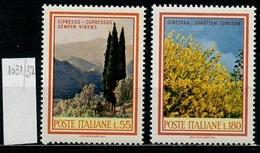 Italie - Italy - Italien 1968 Y&T N°1031 à 1032 - Michel N°1292 à 1093 *** - Fleurs Et Arbres - 6. 1946-.. Republik