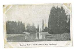 CPA ITALIE SALUTI DA GALLIERA VENETA GIARDINO VILLA DE-MICHELI - Otros