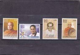 Sri Lanka Nº 1443 Al 1446 - Sri Lanka (Ceilán) (1948-...)