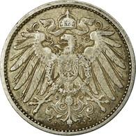 Monnaie, GERMANY - EMPIRE, Wilhelm II, Mark, 1905, Hambourg, TTB, Argent, KM:14 - [ 2] 1871-1918: Deutsches Kaiserreich