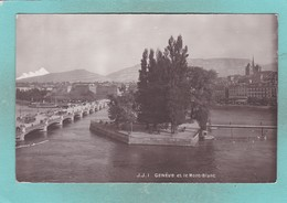 Small Old Post Card Of Geneve,Geneva,Switzerland,V67. - GE Geneva