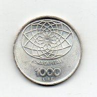 """ITALIA - 1970 - 1000 Lire """"Roma Capitale"""" - FDC - Argento 835 - Peso 14,6 Grammi - (MW2168) - 1946-… : Repubblica"""