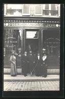 CPA Soissons, Rue St. Martin, Pharmacie - Soissons