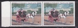 N° 1517 Oeuvres D'Art: La Cariole Du Père Juniet De Henri Rousseau: Timbres  Neuf Im Belle Paire De 2 Neuf Impeccable - Unused Stamps