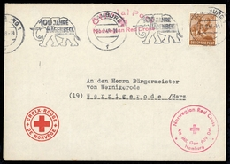 1947, Gemeinschaftsausgaben, 951, Brief - Gemeinschaftsausgaben