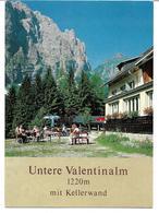 3003o: AK Untere Valentinalm, Kellerwand, Wolayer See, Gailtal, Ungelaufen - Lesachtal