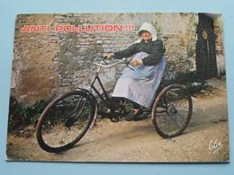 ANTI  POLLUTION !!! ( Elcé - N 156 - En Vacances ) Anno 1989 ( Voir Photo ) ! - Humour