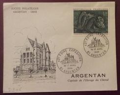 D306 Orne Argentan «42è Foire Exposition» 1478 Cratère De Vix 16-17/4/1966 - Marcophilie (Lettres)