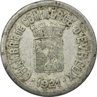 Monnaie, France, Chambre De Commerce, Evreux, 25 Centimes, 1921, TTB, Aluminium - Monétaires / De Nécessité