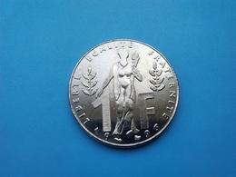 FRANCE   1  Franc   1996   -- Spl --   Rueff - Frankreich