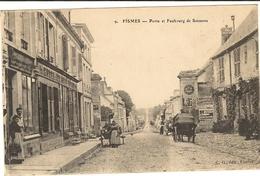 FISMES - Porte Et Faubourg De Soissons    135 - Fismes