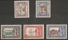 INDIA - JAIPUR 1931 - 1948 MOUNTED MINT SELECTION SG 41, 73 - 75, O32 (LIGHTLY)  MOUNTED MINT Cat £10+ - Jaipur