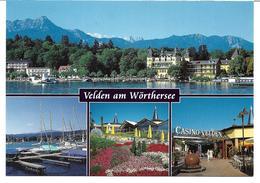 3003l: AK 9220 Velden Am Wörther See, Ungelaufene Mehrbildkarte - Velden