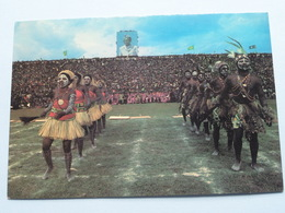 Kinshasa, Danse Folklorique Au STADE Du 20 MAI (République Du Zaire) Stamp > Anno 1985 ( Voir Photo ) ! - Kinshasa - Léopoldville