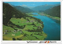 3003i: AK 9762 Weißensee, Gelaufen Mit Werbestempel - Weissensee