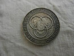 Médaille De Table Wein-pramierung 1980 - Verliehen Vom Badischen Weinbauverband - Allemagne