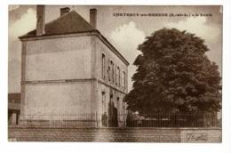 Chatenoy En Bresse - L'Ecole (petite Animation) Pas Circulé - France