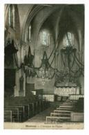 Diconne - L'Intérieur De L'Eglise - Circulé 1906, Cachet Facteur Boitier Lessard En Bresse, Timbre Annulé Par Une Croix - Sonstige Gemeinden