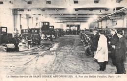 ¤¤  -  PARIS  -  La Station-Service De SAINT-DIDIER AUTOMOBILES, 10 Rue Des Belles Feuilles  -  Garage  -  ¤¤ - Arrondissement: 16