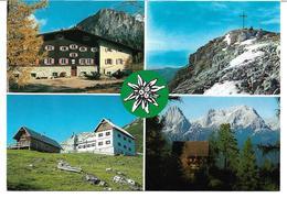 3003g: AK ÖAV- Hütten Im Warscheneckgebiet, Mehrbildkarte, Ungelaufen - Hinterstoder