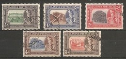 INDIA - JAIPUR 1948 SILVER JUBILEE OF MAHARAJA'S ACCESSION VALUES TO 8a BETWEEN SG 73 AND SG 79 FINE USED Cat £31+ - Jaipur