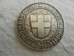 Médaille De Table Stadt Freiburg Im Breisgau - Für Verdienste Imsport - Allemagne