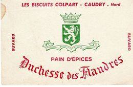 Buvard Ancien - Duchesse Des Flandres Les Biscuits Colpart-caudry. Nord - - Cake & Candy