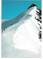 3003b: AK Wildspitze (zweithöchster Berg Österreichs), Ungelaufen, Breslauer Hütte- Hüttenstempel - Sölden