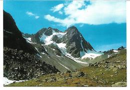 3003a: AK Watzespitze, Kaunergrathütte, Hüttenstempel, Ungelaufen - Oetz