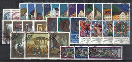 LIECHTENSTEIN  Us  1978   Annata Completa  -  Annullo 1°giorno ! ( Ersttagstempel )  -  Vedi  Foto ! - Liechtenstein