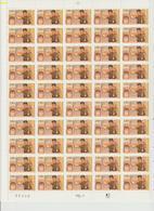 Faciale 21.35 Eur ; Feuille De 50 Tbs à 2.80 Fr N° 2861 (cote 65 Euros) - Ganze Bögen