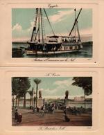 LE CAIRE EGYPTE PONT DU NIL BATEAU EXCURSION - Le Caire