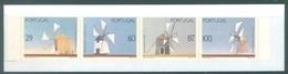 PORTUGAL - 1989 - MNH/*** LUXE BOOKLET - MOULIN A VENT MOINHOS DE VENTO WINDMILL - Mi  MH5 Yv  C1770a - Lot 19413 - Carnets
