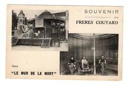 """CIRQUE - Souvenir Des Frères Coutard Dans """"le Mur De La Mort"""" - Cirque"""