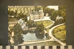 CP, 22, Environs De Jugon Château De Beaubois, Vue Aerienne - France