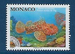 "Monaco Préo  YT 116 "" Rascasse Rouge "" 2014 Neuf** - Monaco"