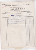 51-Oudart Fils..Carrosserie & Charronnages...Châlons-sur-Marne..(Marne)...1956 - Cars
