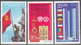 GERMAN DEMOCRATIC REPUBLIC        SCOTT NO.  1200-2      MINT HINGED       YEAR  1970 - [6] Democratic Republic