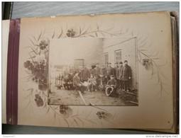 ALBUM DE FAMILLE POLOGNE  23 PHOTO MONTAGE 1890 - Albumes & Colecciones