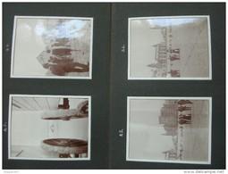 ALBUM PHOTO OOSTENDE OSTENDE 93 PHOTOS DONT HOTEL CABINE PLAGE MONUMENT JEUX TOUR EIFFEL - Albums & Collections