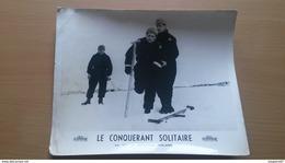 AFFICHETTE FILM DE GUERRE LE CONQUERANT SOLITAIRE BERNARD ROLAND UNIJAMBISTE - Affiches