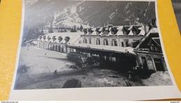 PHOTO GARE SNCF  CHAMONIX MONT BLANC - Lieux