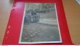 PHOTO ROL AND CIE PARIS L AFFAIRE STEINHEIL DEVANT LA VILLA IMPASSE RONSIN 17X13CM - Lieux