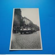 PHOTO SOLDAT AVEC UN CHAR - Guerre, Militaire