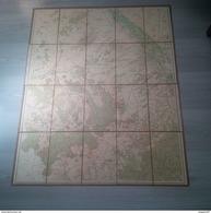 CARTE GEOGRAPHIQUE AUBE - Cartes Géographiques