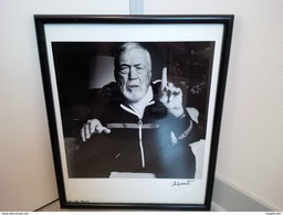 PHOTO DE PATRICK JACOBS JOHN HUSTON SIGNEE EN BAS DROITE 50X40CM - Beroemde Personen