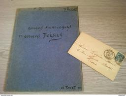 COLLECTION SUR CHARLES FAVET RECUEIL DE POESIES FASCICULE AVEC EX LIBRIS - Collections