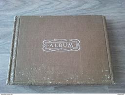 ALBUM DE FAMILLE LIEUX A IDENTIFIER METIER CONSTRUCTION AUTOCHENILLE RECOLTE 77 PHOTOS - Albums & Collections