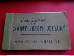 ALBUM PHOTO CONGREGATION DE SAINT JOESPH DE CLUNY MISSIONS DE CHALETTE AUBE - Lieux